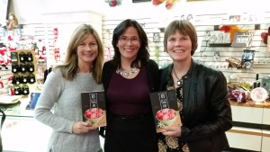 From left to right:  authors Jennifer Lynn Alvarez, Angela Lam, and Jan Ogren